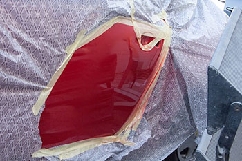 arreglar bollo puerta coche pintar
