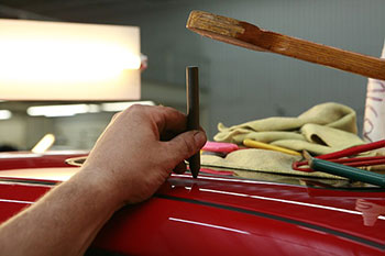 arreglar bollo puerta coche tecnica