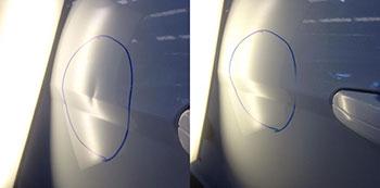 arreglar pintura coche abolladura